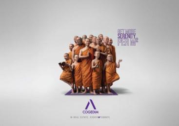 Cogedim: Serenity Print Ad by Babel Paris, Illusion