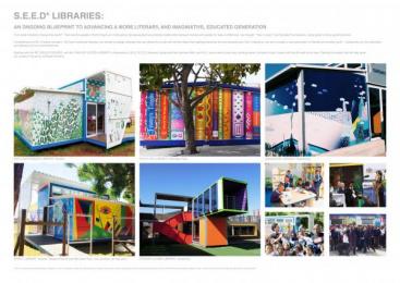 S.E.E.D Libraries: S.E.E.D Libraries, 1 Design & Branding by 140 BBDO Cape Town