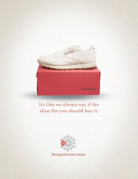 Reebok: Buy it Print Ad by The Creative Circus