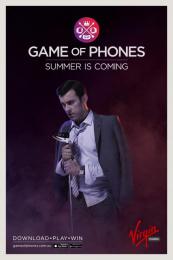 Virgin Mobile: Game of Phones - Summer Print Ad by Havas Worldwide Sydney