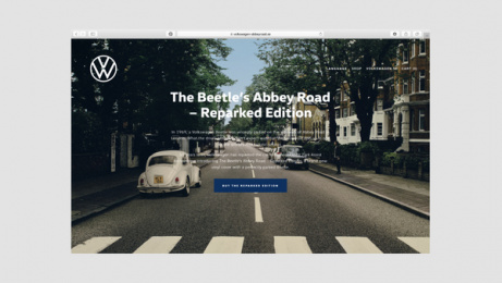 Volkswagen: Abbey Road with Park Assist, 4 Print Ad by DDB Stockholm