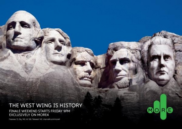 West Wing Finale Tv Programme: WEST WING ROCKS Print Ad by 4creative