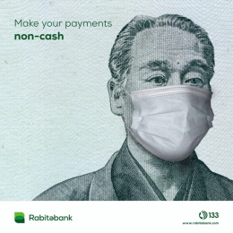 Rabitabank: Cashless, 1 Digital Advert by Endorphin Baku