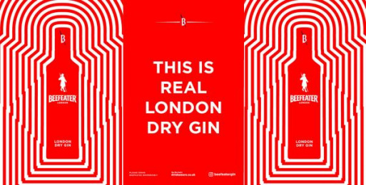 Beefeater: Beefeater Gin UK OOH, 1 Outdoor Advert by Impero