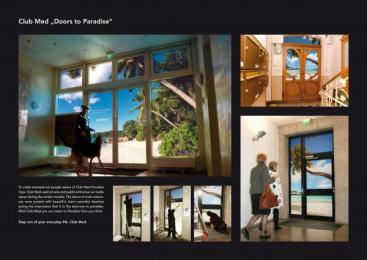 CLUB MÉDITERANÉE: DOOR TO PARADISE Print Ad by Publicis Frankfurt