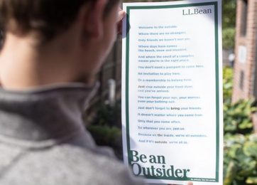 L.l. Bean: Be an Outsider, 2 Print Ad by The VIA Agency