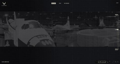 US Air Force: Million Piece Mission, 2 Digital Advert by GSD&M Austin