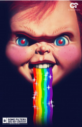 Cabletica: Parental Control - Chucky Print Ad by Jotabequ Grey Costa Rica