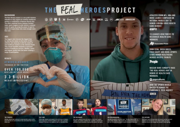 Sports United: #TheRealHeroes Project, 3 Case study by 72andSunny Los Angeles