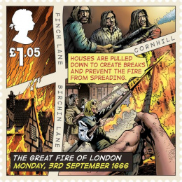 Royal Mail: Great Fire of London, 7 Design & Branding by The Chase