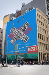 Diesel: Embrace It, 1 Outdoor Advert by Miami Ad School New York