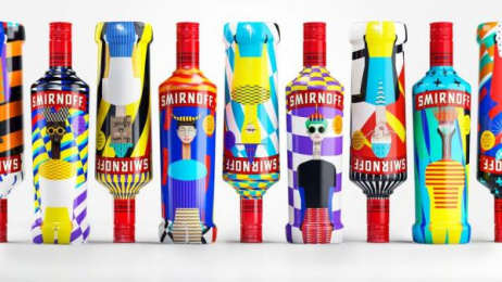 Smirnoff: Every One the Same, Every One Different Design & Branding by Team collaboration