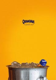 Orangina: Bucket Print Ad by Freelance