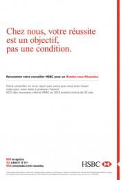 HSBC: HSBC, 1 Print Ad by Saatchi & Saatchi + Duke France