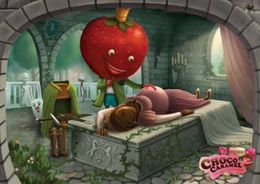 Eclairs: Strawberry Print Ad by VML Qais Mumbai