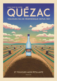 Quezac: The Haystack Print Ad by Change Paris