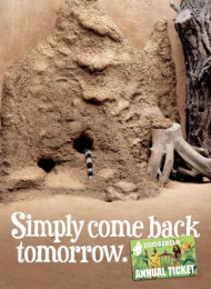 Zoo Card Annual Pass: MONGOOSE Print Ad by Scholz & Friends Berlin