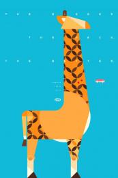 Fini: Giraffe Print Ad by Borghi/Lowe Sao Paulo