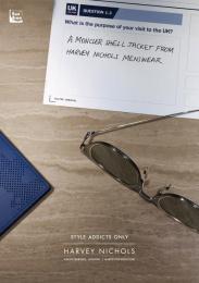 Harvey Nichols: Moncler shell jacket Print Ad by adam&eveDDB London