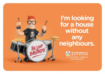 Zimmo: The Property Website for Geniuses, 3 Print Ad by Publicis Brussels