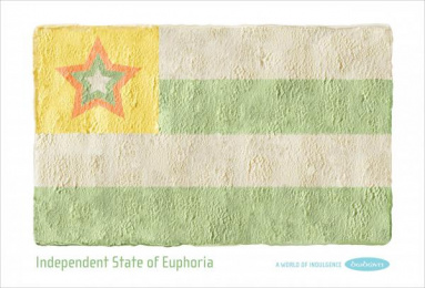 Dodoni Ice Cream: INDEPENDENT STATE OF EUPHORIA Print Ad by The Syndicate