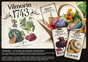 Vilmorin: VILMORIN 1743 Design & Branding by Team Creatif