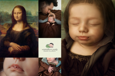 Os Bebês da Lhais - Newborn Photography: Your baby is a work of art, 3 Print Ad by Tuppi