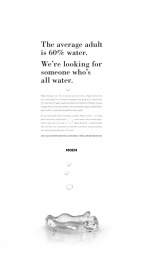 Moen: Water Designs Our Life. Who Designs For Water? Print Ad by Havas Worldwide Chicago