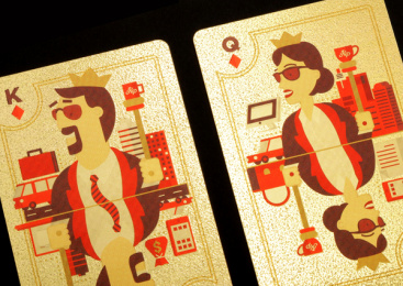 King Price Insurance: Playing Cards, 5 Print Ad by Xfacta Consulting Service