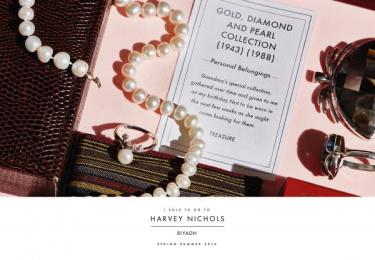 Harvey Nichols: Jewelry Print Ad by Lowe Mena Dubai