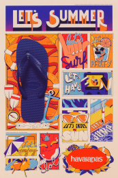 Havaianas: Let's Summer News, 11 Print Ad by ALMAP BBDO Brazil