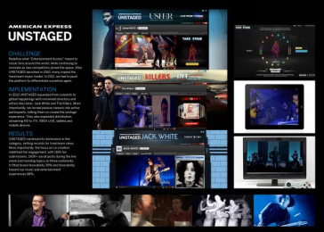 American Express: UNSTAGED Case study by Digitas New York, Momentum New York
