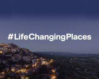 Lufthansa: #LifeChangingPlaces – France Print Ad by 27 Kilometer Entertainment, Kolle Rebbe Werbeagentur Gmbh
