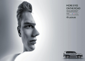 Lexus: More Eyes on the Road: Lexus LX Print Ad by Leo Burnett Cairo
