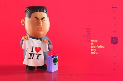 Salvation Army: Kim Jong-un Print Ad by CINE CINEMATOGRAFICA, WMcCann Brazil