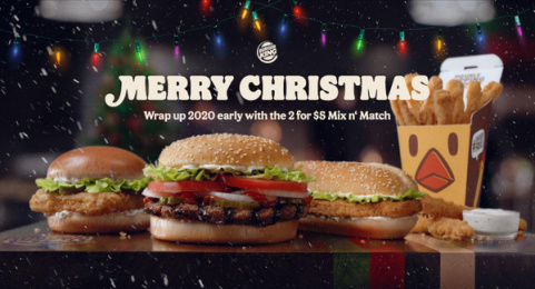 Burger King: Christmas in July Print Ad by David Sao Paulo