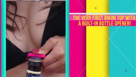 Open Jugs: The First Bikini Top Bottle Opener [video] Film by Miami Ad School New York