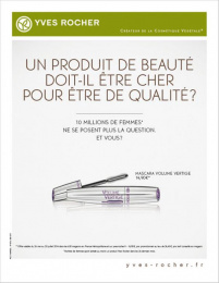 Yves Rocher: YVES ROCHER, 3 Print Ad by M&C Saatchi Paris