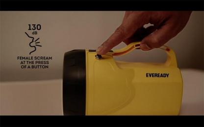 Eveready: Anti-Rape Sonic Torch Design & Branding by Rediffusion Y&R