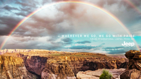 Jeep: Rainbow, 3 Print Ad by Together w/, Buenos Aires, Argentina