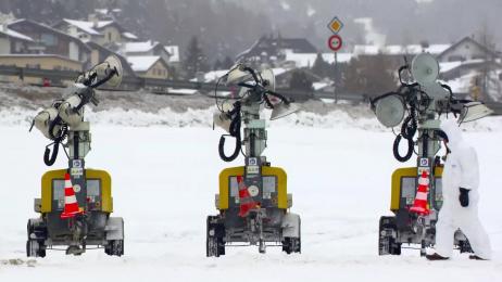 Swisscom: Snow Drawings, 2 Ambient Advert by Heimat Berlin, Unit 9 London