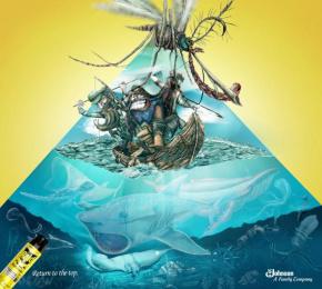 Raid: Return to the Top Print Ad by Escola Cuca
