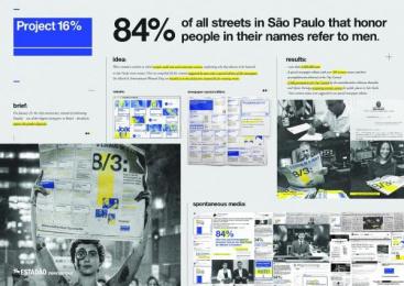 O Estadao De Sao Paulo: Project 16% [image] Ambient Advert by FCB Sao Paulo