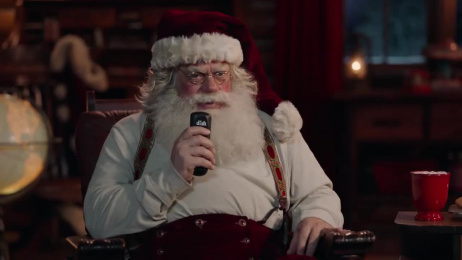 Dish Tv: Santa, The Spokeslistener Film by Camp + King San Francisco, Moxie Pictures