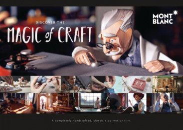 MONTBLANC: Discover The Magic Of Craft [image] 2 Film by Scholz & Friends Berlin, Salon Alpin