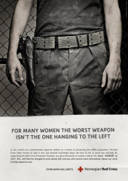 International Red Cross Day: SOLDIER Print Ad by DDB Oslo
