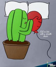 Gillette: Cactus, 2 Print Ad by Miami Ad School New York