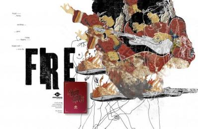 Mundo Livre Fm: Fire Print Ad by Candy Shop