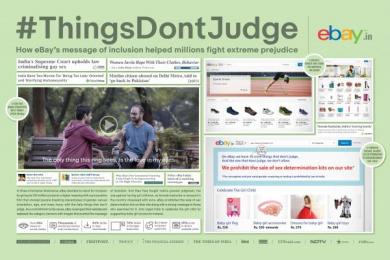 Ebay: #Thingsdontjudge [image] Digital Advert by BBDO Mumbai, Like Minded Productions