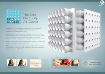 Grameen Intel Social Business Limited: Eco-Cooler Design & Branding by Grey, Bangladesh
